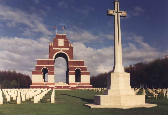 The Thiepval Memorial, Somme, France.