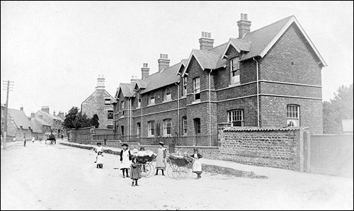 The Burton Latimer Cottage Homes (about 1905)