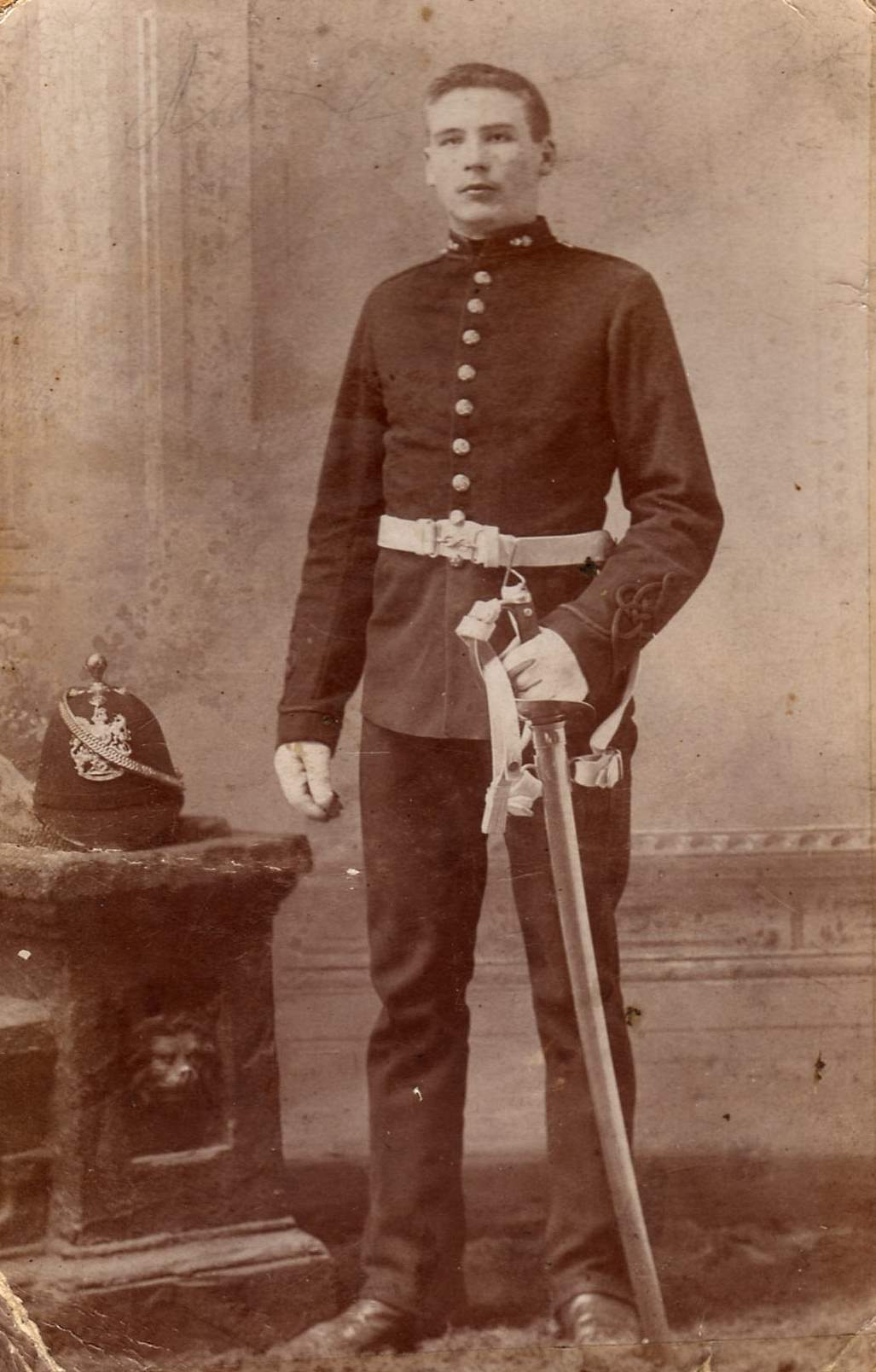 Arthur Jackson in uniform