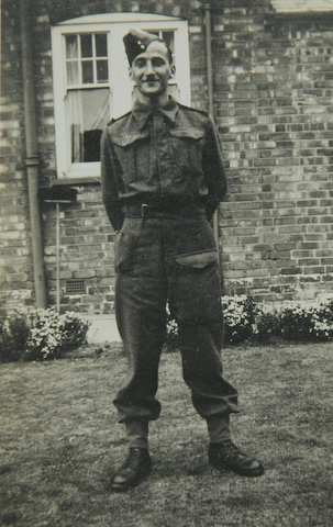 George Craxford in uniform