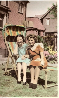 Hilda and Ida at Oadby