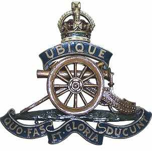 The badge of The Royal Artillery