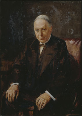 Robert, Baron Chalmers: Portrait painted about 1920 (7)
