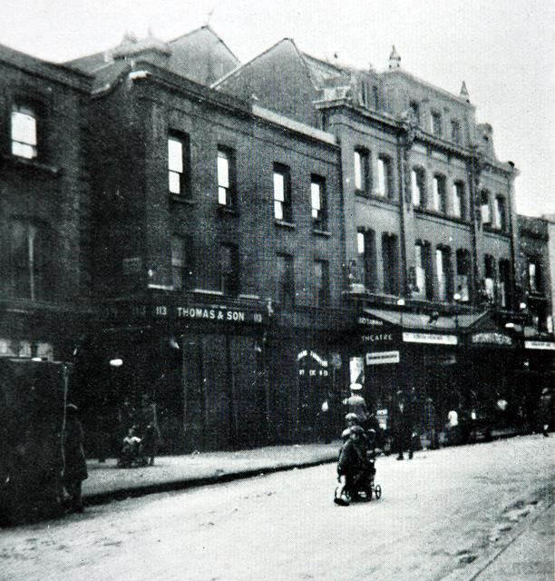 The Britannia Theatre, Hoxton. Exterior view