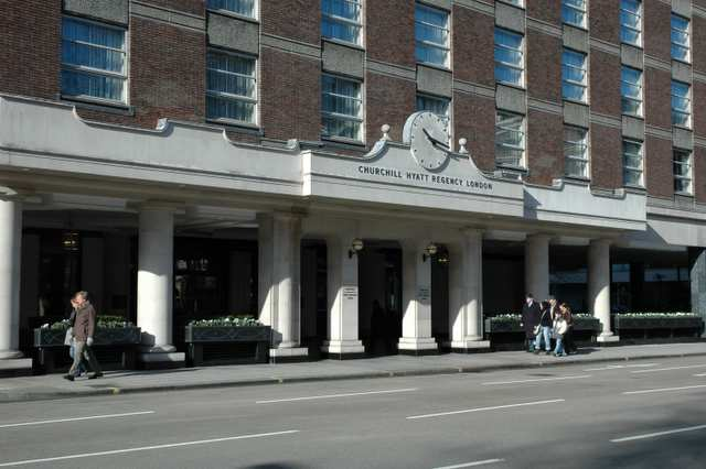 Hyatt Church Regency Hotel, London