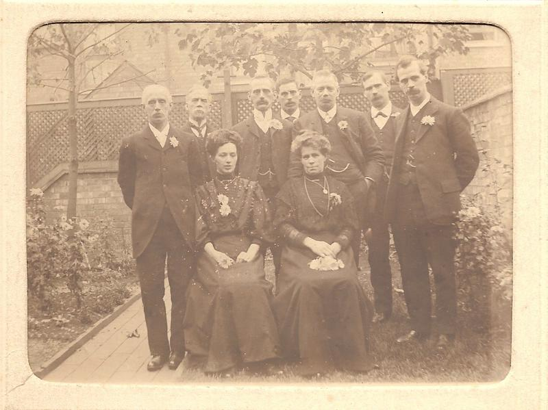 The sons and daughters of John and Ann Naylor