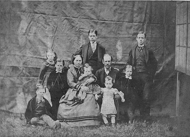 The Naylor family 1873