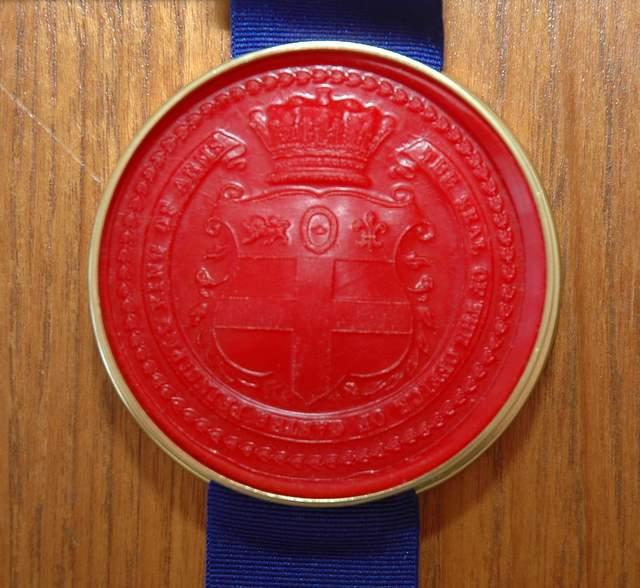 The Seal of the office of the Garter King of Arms
