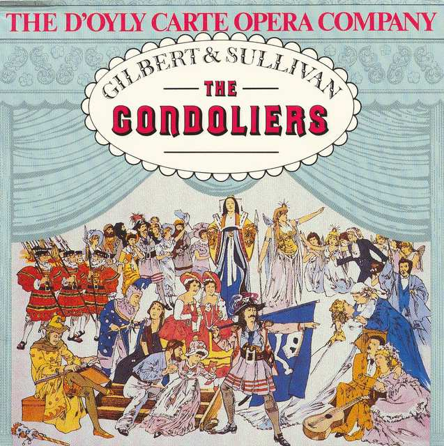 The Gondoliers CD: Access the review