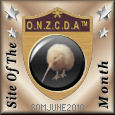 O.N.Z.C.D.A™ Site of the Month Award Achiever June 2010