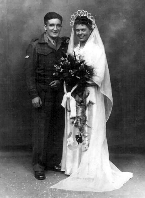 John's marriage to Maud Yeagers: May 1945