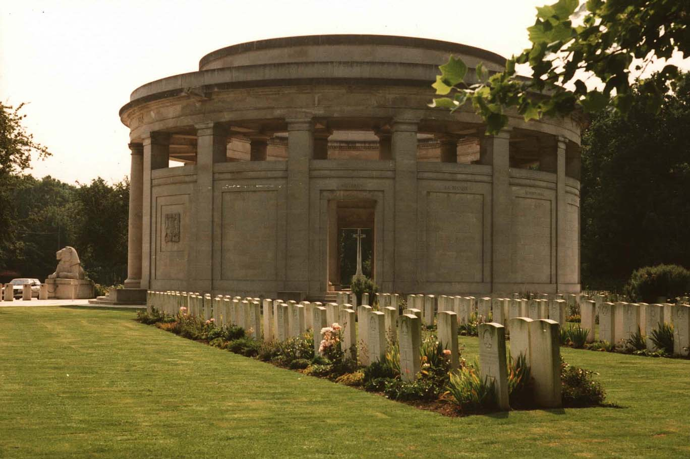 The Ploegsteert Memorial, Ieper, Belgium