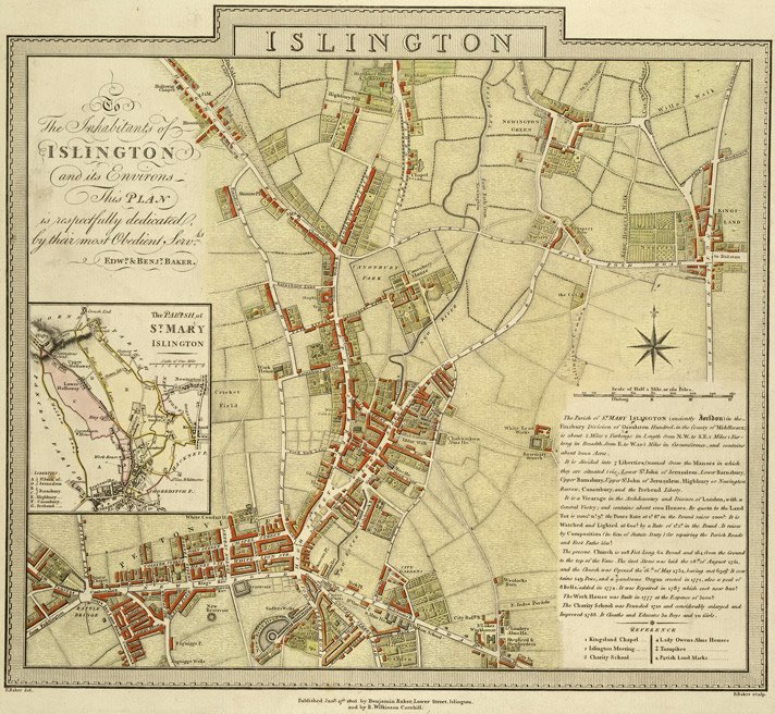 Map of Islington: Access stories of the greengrocers of Pentonville