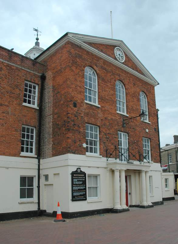 The Town Hall, Huntingdon: Read about this branch of the Craxford family