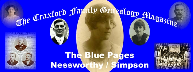 The Craxford Family Magazine Blue Pages