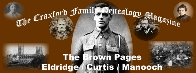 The Craxford Family Magazine Brown Pages